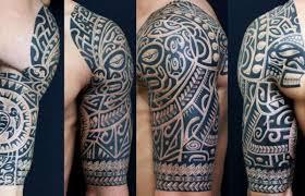Nový Trend V Umění Etnikách Etnický Styl Tetování