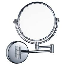 10x magnifying two side vanity extendable bathroom wall mount mirror teverer