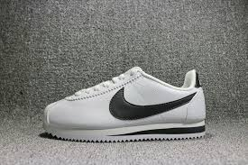 dependable nike wmns classic cortez leather white black 807471 101 women s men s running shoes fashion sneakers