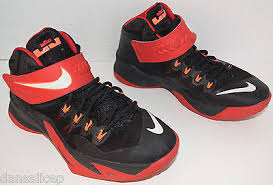lebron 5 soldier. nike 653645 006 zoom lebron soldier 8 vlll red black basketball shoe 5.5y kids 5
