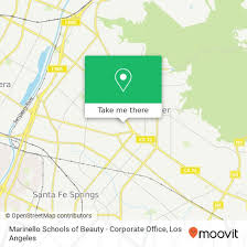 How To Get To Marinello Schools Of Beauty Corporate Office