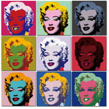 2017 andy warhol 10pcs marilyn monroe wall art oil painting prints painting on canvas no frame