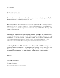 Letter To Substitute Teacher Template Letter Of Recommendation For Substitute Teacher Shared By Kenya