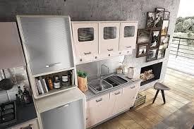 view in gallery retro style kitchen cabinets with a metallic finish