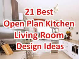 21 best open plan kitchen living room