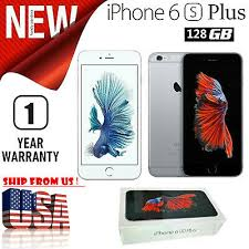 new apple iphone 6s plus 64 128gb gray