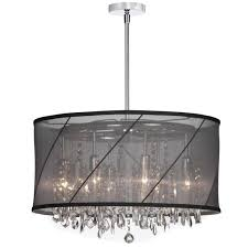 ceiling lights hanging drum lamp shades chandelier in shade 36 drum pendant light dining room