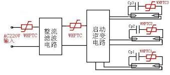 application of the ballast applications 3 Lamps Ballast Wiring Diagram Series figure 11 a fluorescent electronic ballast block diagram with three T8 Electronic Ballast Wiring Diagram