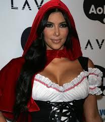 hot looks from kim kardashian glam radar close up shot little red riding hood