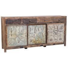 pressed metal furniture. Marietta Pressed Tin Large Console Metal Furniture S