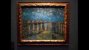 starry night over the rhone by vincent van gogh musée d orsay paris ysis podcast