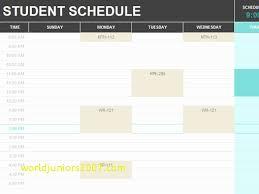 school schedule template top result best of college school schedule template pic 2017 hyt4