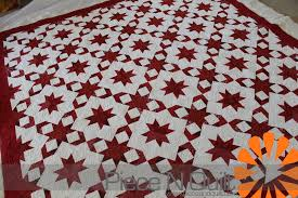 Piece N Quilt: Wrapped in Red ~ A Red and White Quilt & Wrapped in Red ~ A Red and White Quilt Adamdwight.com