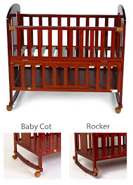 2 in 1 convertibility the strong and sy frame of the cot ensures an easy and convenient conversion to a day bed and to a rocker in a few simple steps