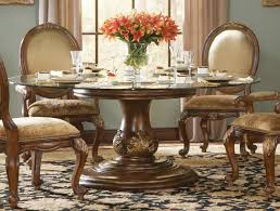 exellent dining charming round glass dining room sets table for 8 marble top in i