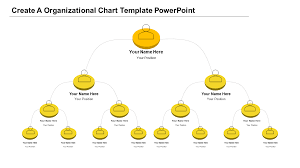 Download Picture Organizational Chart Template For Powerpoint Organizational Chart Template Powerpoint Yellow