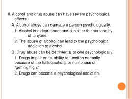 drug and drug abuse essay outline annotated bibliography  essay example on the question of alcohol and drug abuse