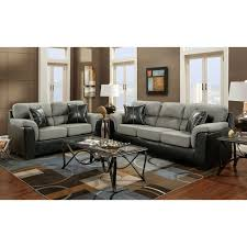 living room sets made in usa. furnituremaxx laredo black and grey two tone sofa, made in usa : sofas living room sets usa