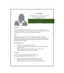 Free Sample Resume For Administrative Assistant Adminitive Assistant ...