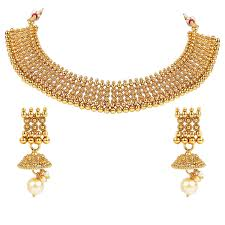 Designer Jewellery Amazon Com I Jewels 18k Gold Plated Indian Bollywood South