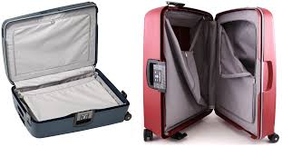samsonite s cure inside multiple zipped compartments