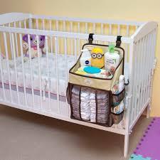 Diaper Caddy & Nursery Storage Organizer (Beige)