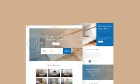 Best Hotel Website Design 2018 Free Hotel Booking Website Template Psd