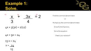 solve equations involving rational expressions 3 x