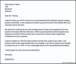 Thank You Letters After Teaching Interview Bunch Ideas Of Interview Thank You Letter Project Manager Position