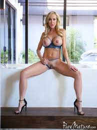 A blond MILF in action from Brandi