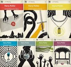 diffe versions of the harry potter book covers