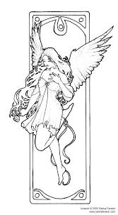 Dark Angel Coloring Pages Angel Color By Number Coloring Page Color