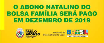 Resultado de imagem para CAIXA PAGA ABONO NATALINO DO BOLSO FAMILIA