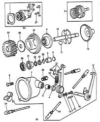 governor parts for ford 8n tractors (1947 1952) ford 8n parts manual at 8n Ford Tractor Diagrams