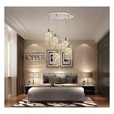 crystal creativity modern chandeliers ceiling light