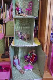 shoe bo turned into doll house