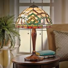 celtic knot stained glass table lamp at acorn xa8032 within lamps design 7