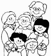Small Picture Family Coloring Page FunyColoring