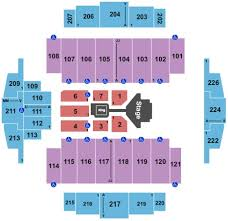 Tacoma Dome Seating Chart With Rows Tacoma Dome Tickets In Tacoma Washington Tacoma Dome