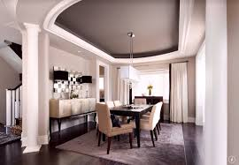formal dining rooms with columns. contemporary dining room with rectangle shade and glass bubbles island chandelier, columns, custom endura formal rooms columns