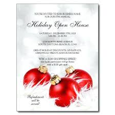 Open House Invite Samples Holiday Open House Invitations Open House Invitations Christmas Open