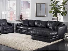perfect ideas black leather sectional sofa black leather sectional sofa plushemisphere black leather sofa perfect