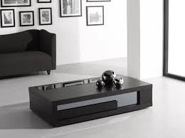 image of black modern coffee table shapes