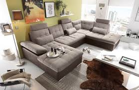 Lifestyle4living Ecksofa Sofaecke Wohnlandschaft Couch U