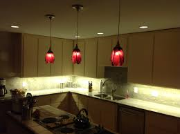 cranberry tulip pendant lights