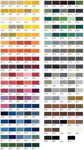 33 Nwe Paints Choice Of Colour Charts Bs4800 Ral Bs381c