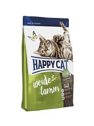 <b>Сухой корм</b> для взрослых кошек <b>Happy Cat</b> Adult ягненок, 4 кг, шт ...