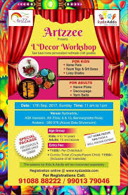 Small Picture Decor Workshop Bannerghatta Road Bangalore