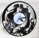 Часы из грампластинок своими руками