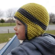 Crochet Earflap Hat Pattern Free